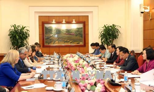 Gender equality significant for nation's global integration: official hinh anh 1