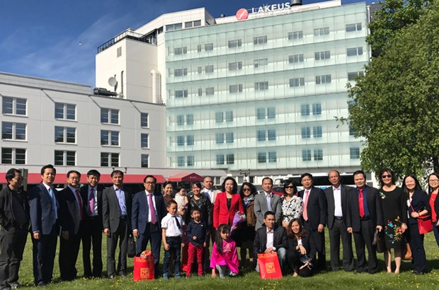 Hanoi boosts cooperation with Finland, Sweden and Austria hinh anh 2