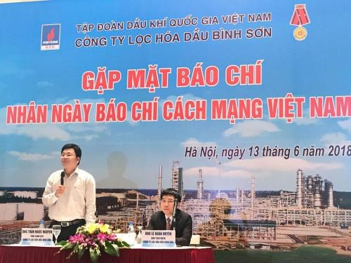 Binh Son refinery reports high profit in six months hinh anh 1