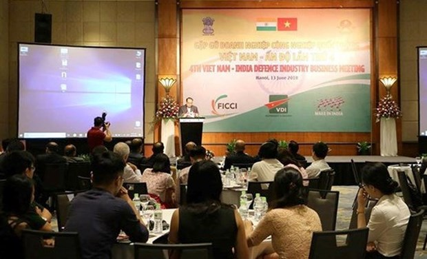 Vietnam – India defence industry businesses gather in Hanoi hinh anh 1