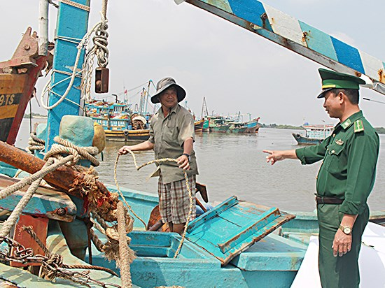 Ba Ria-Vung Tau strictly tackles illegal fishing in foreign waters hinh anh 1