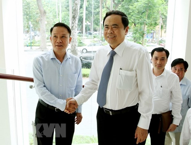 VFF President hails VNA as strategic information channel hinh anh 1