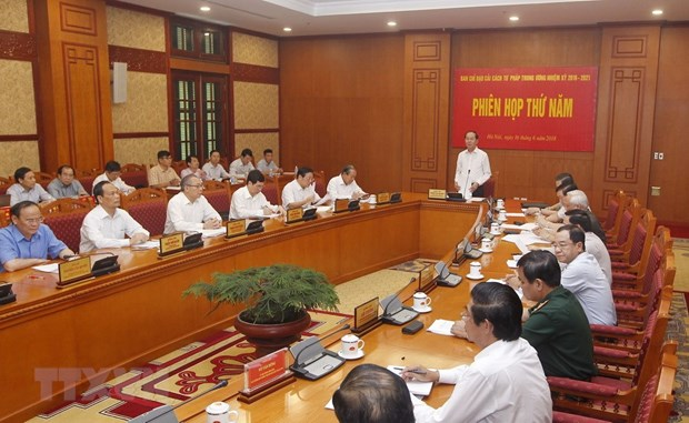Judicial reform committee convenes fifth session hinh anh 1