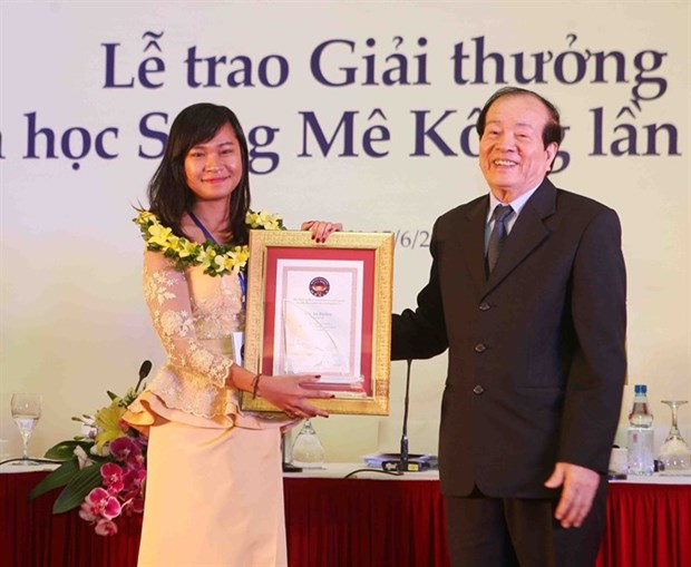 Mekong river literature award presented hinh anh 1