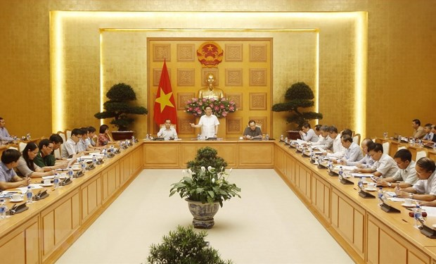 Anti-Money Laundering Steering Committee holds first meeting hinh anh 1