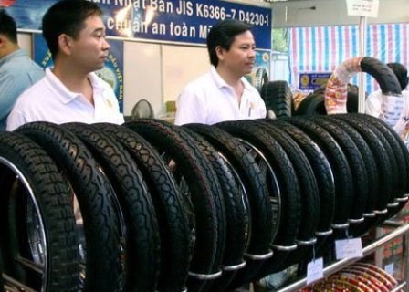 Made-in-Vietnam tyres present in 128 markets hinh anh 1