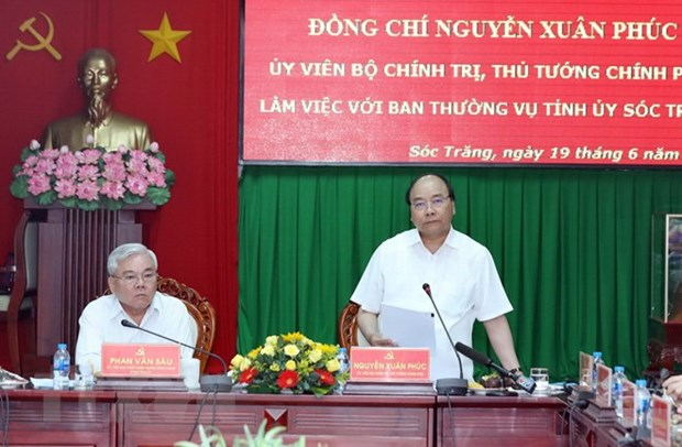 PM: Soc Trang should work out proper measures to fulfill growth targets hinh anh 1