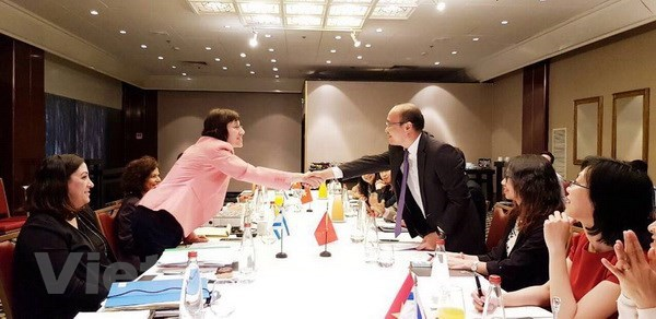 Vietnam, Israel hold fifth round of negotiations on FTA hinh anh 1