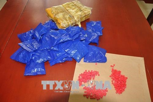 Drugs discovered in parcel sent from UK via postal service hinh anh 1