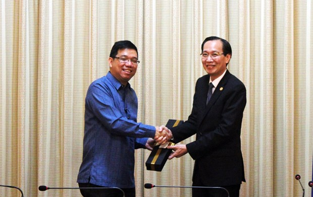 HCM City enhances trade cooperation with Philippines hinh anh 1