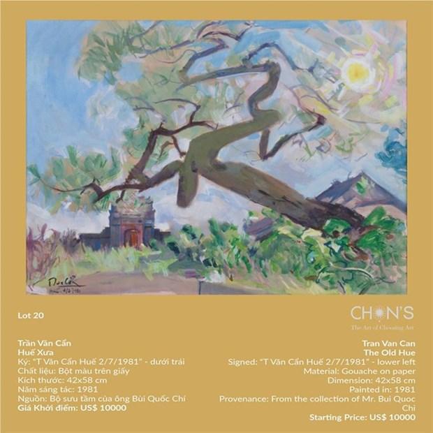 Vietnamese paintings attract artwork hunters hinh anh 2