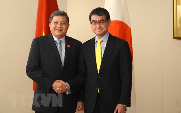 Vietnam, Japan to bolster parliamentary ties, promote CPTPP hinh anh 1
