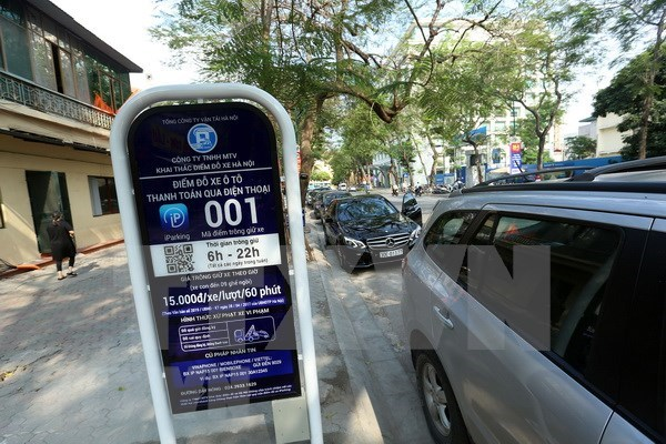 Hanoi to have extra 140 iParking lots hinh anh 1