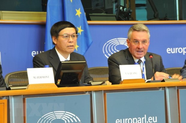 Brussels workshop talks about EU-Vietnam Free Trade Agreement hinh anh 1