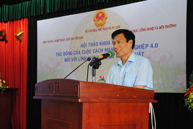 Seminar discusses Industry 4.0 impacts on culture, arts hinh anh 1