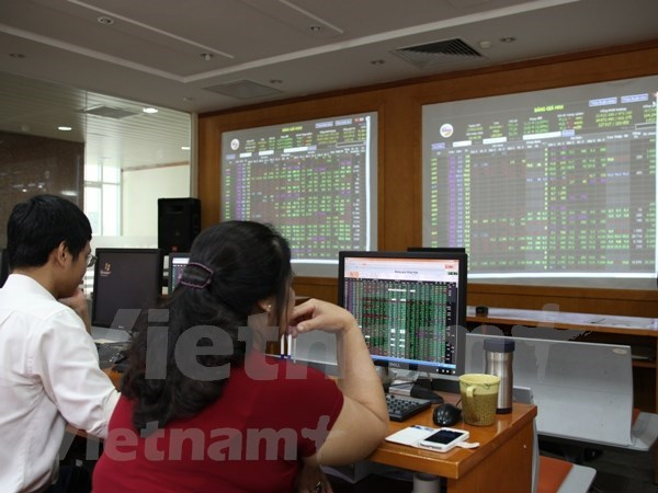 Shares close in red on selling pressure hinh anh 1