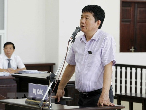 Court asked to uphold sentences for Dinh La Thang and accomplices hinh anh 1
