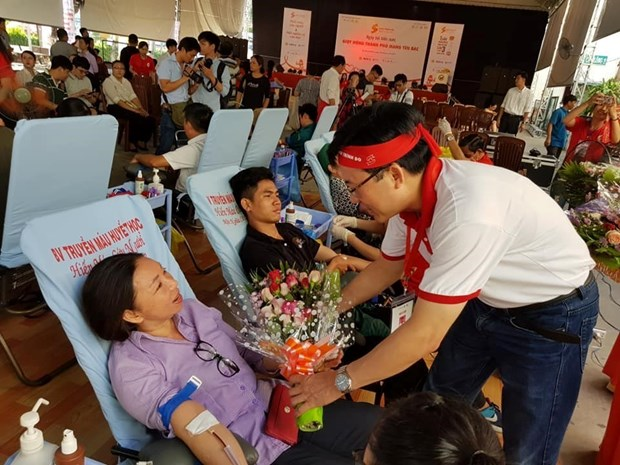 Red Journey: 1,500 blood units collected in HCM City hinh anh 1