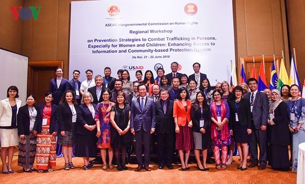 Regional workshop on human trafficking prevention hinh anh 1