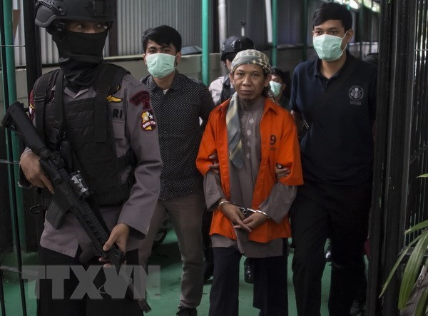 Indonesian extremist cleric sentenced to death over 2016 Starbucks attack hinh anh 1