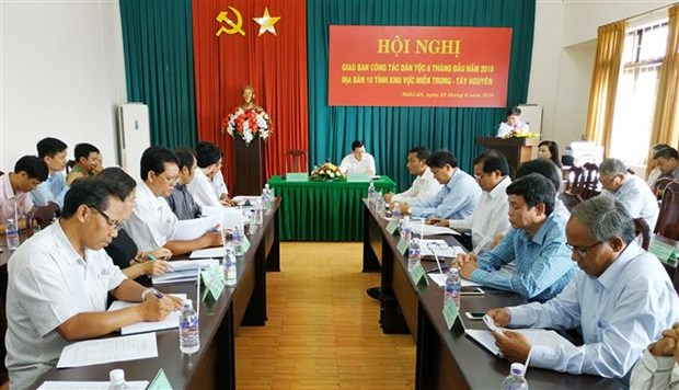 Ethnic affairs in Central, Central Highlands reviewed hinh anh 1