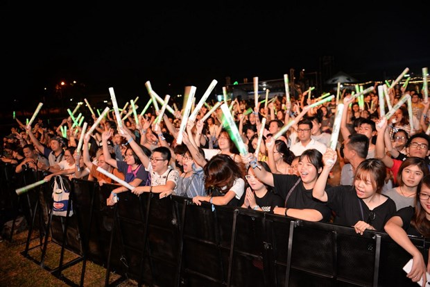 French music festival held in HCM City hinh anh 1