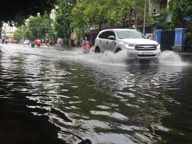HCM City seeks long-term flood-prevention measures hinh anh 1