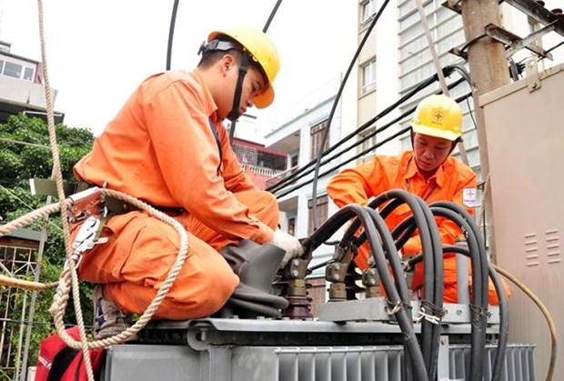 Power usage record broken during heat wave hinh anh 1