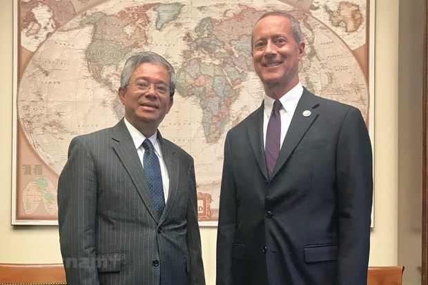 Vietnam, US seek stronger parliamentary ties hinh anh 1