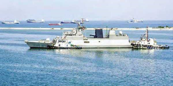 Indian naval ships visit Indonesia to enhance cooperation hinh anh 1