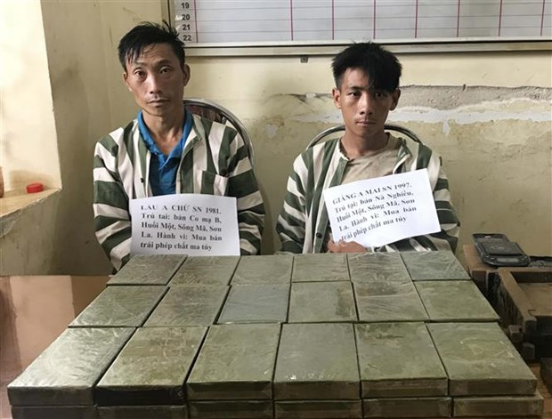 Son La police bust big drug trafficking case hinh anh 1