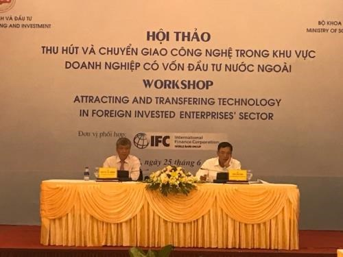 FDI enterprises urged to step up technology transfer hinh anh 1