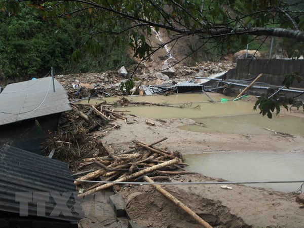 VFF Central Committee sends sympathies to flood victims hinh anh 1