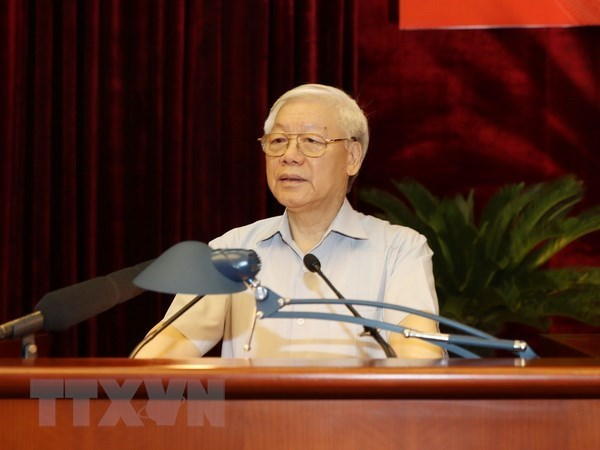 Anti-corruption a long-term task: Party chief hinh anh 1
