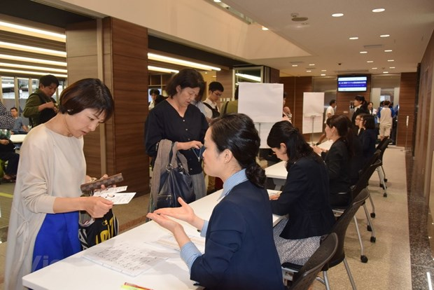 More candidates join 2nd Vietnamese language proficiency exam in Japan hinh anh 1