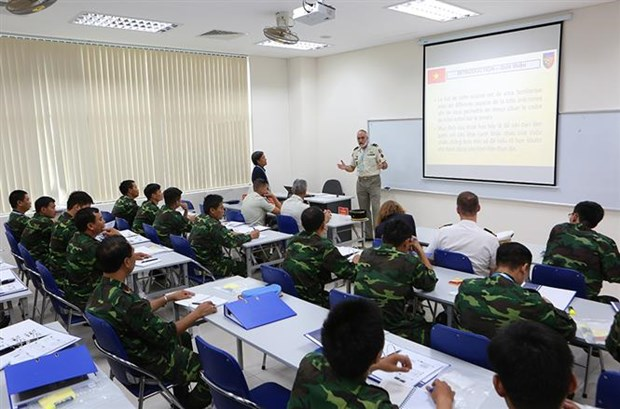 France shares experience in military engineering with Vietnam hinh anh 1