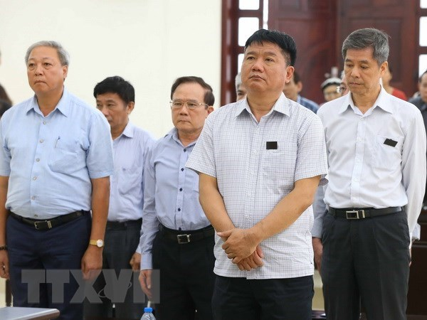 Court upholds sentence against Dinh La Thang in OceanBank case hinh anh 1