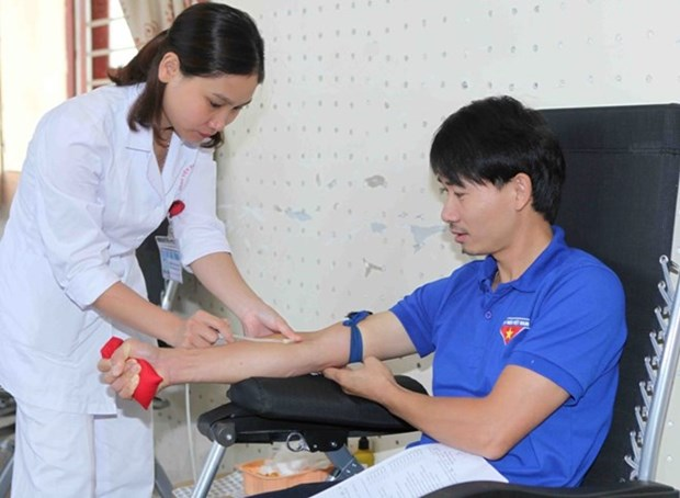 Red Journey blood donation campaign returns to Gia Lai hinh anh 1