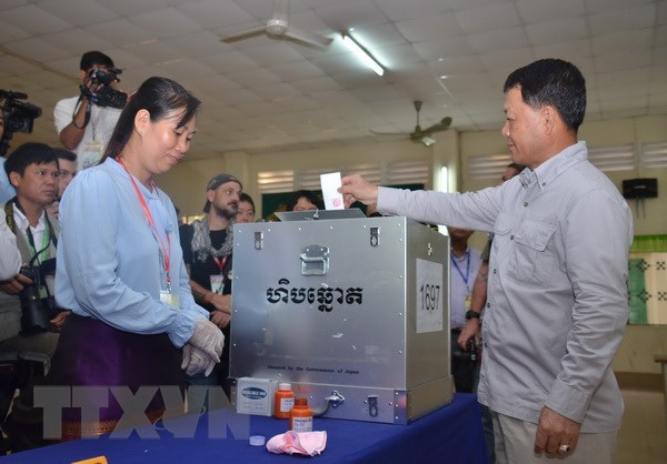 Cambodian general election draws almost 45,000 observers hinh anh 1