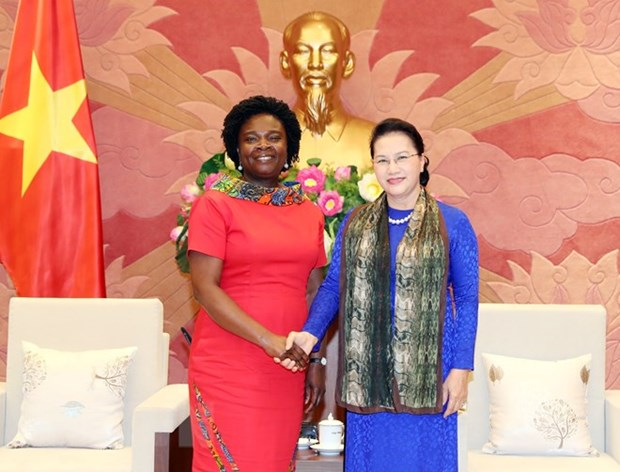 NA Chairwoman receives WB Vice President for East Asia & Pacific hinh anh 1