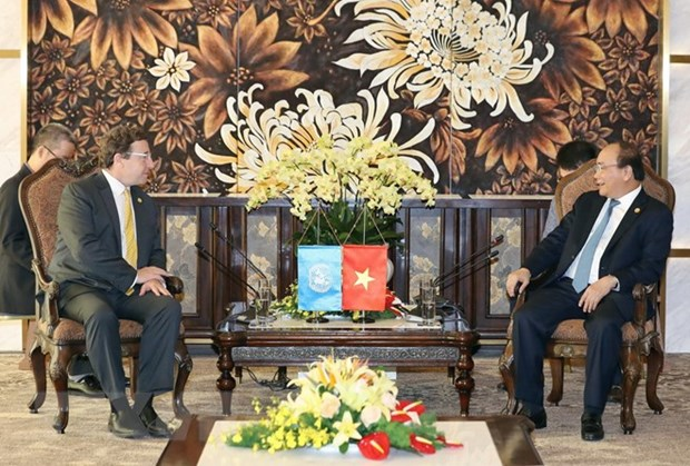 PM Nguyen Xuan Phuc values UNDP's support for Vietnam hinh anh 1