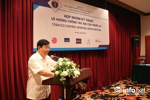 International organisations help Vietnam in tobacco prevention hinh anh 1