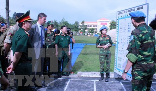 UN shows high evaluation for Vietnam's peacekeeping engagement hinh anh 1