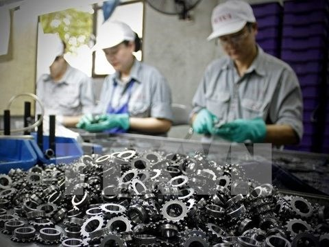 Foreign investors drawn to Vietnam's manufacturing-processing hinh anh 1