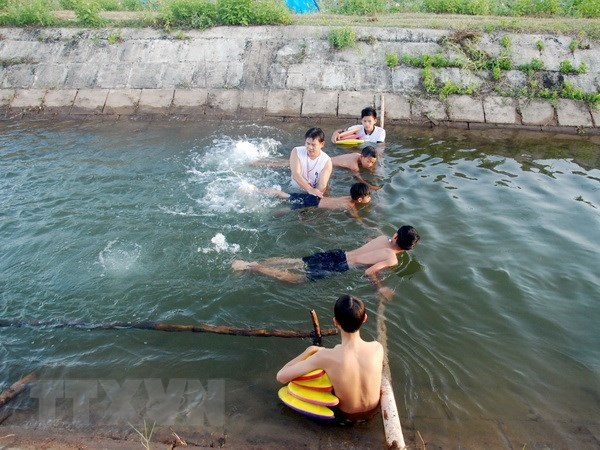 Ministry, foreign partners work to prevent child drowning hinh anh 1