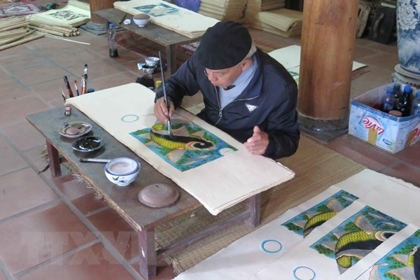 UNESCO recognition sought for for Dong Ho folk painting hinh anh 1