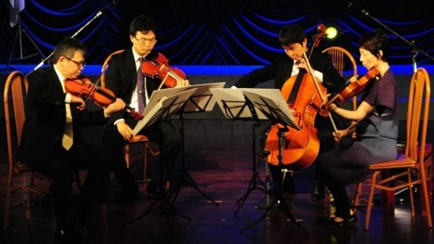 Free concerts delight locals in Da Nang hinh anh 1