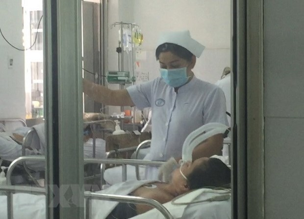 A/H1N1 flu cases at Cho Ray hospital under control hinh anh 1