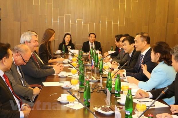 Vietnamese, Czech legislatures look to boost ties hinh anh 1