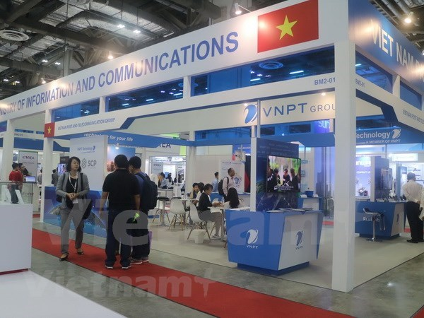 Vietnam promotes ITC technologies at CommunicAsia 2018 hinh anh 1